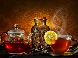 A-Cup-Lemon-Tea-Wallpaper-Picture